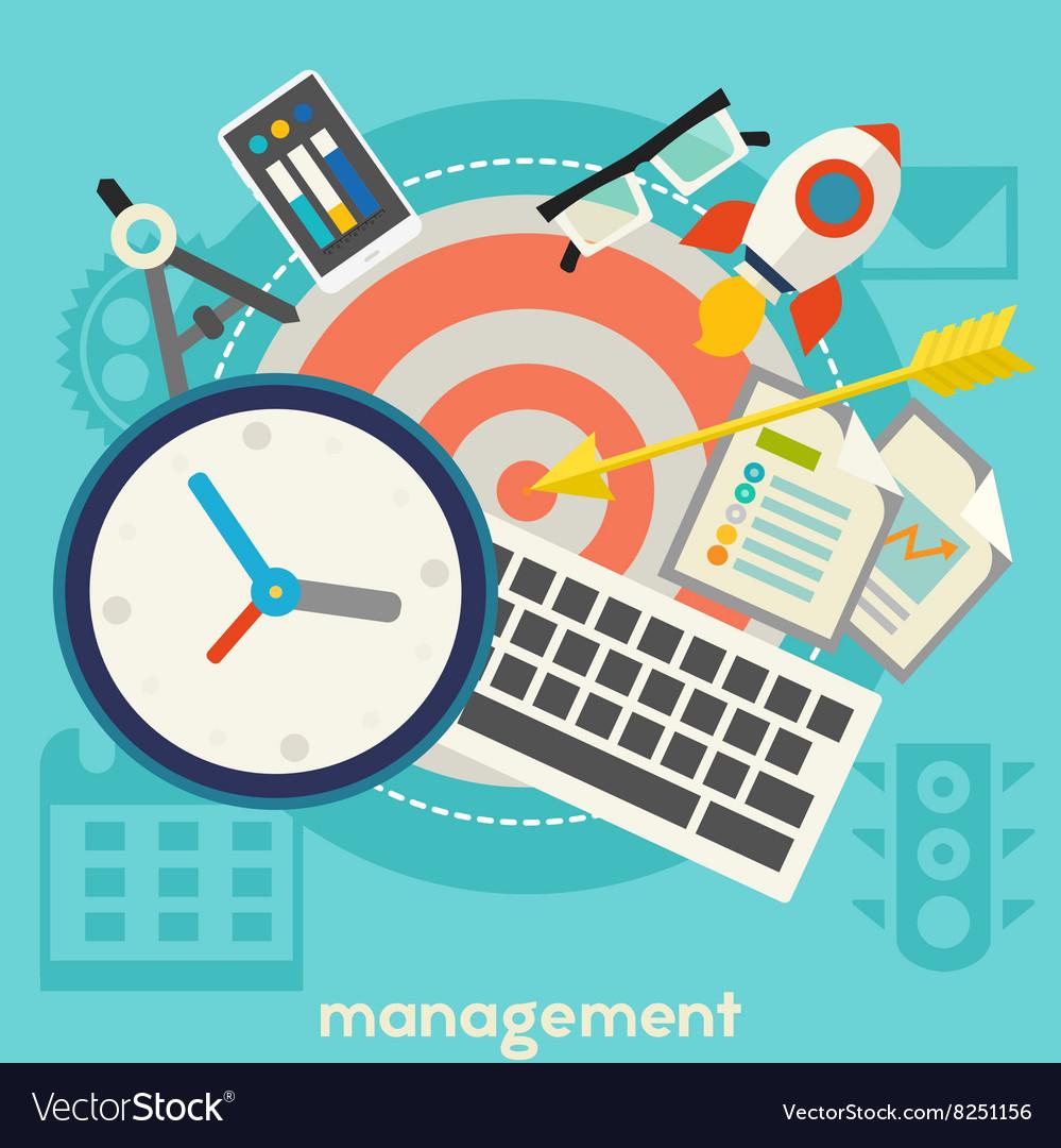 Management Concept Banner