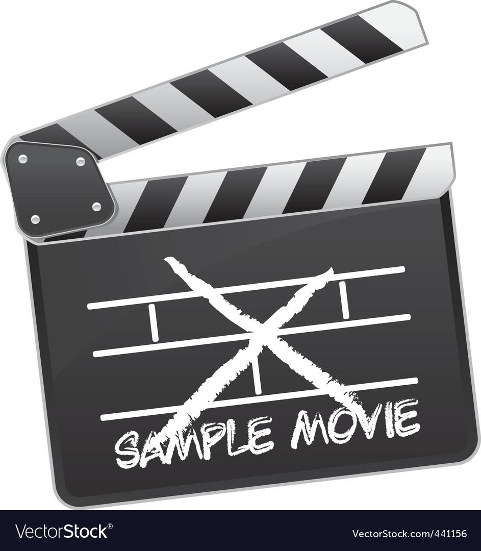 Movie clapper