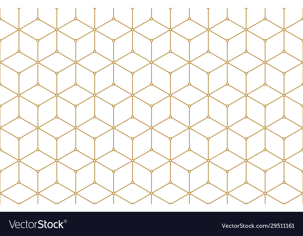 Golden lines seamless pattern