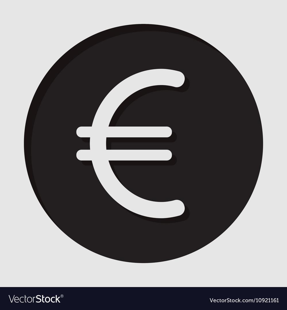 Information Icon Euro Currency Symbol Vector Image