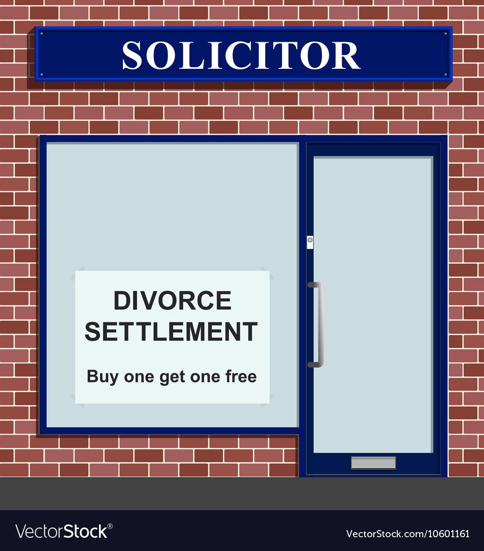 Solicitor divorce settlement offer