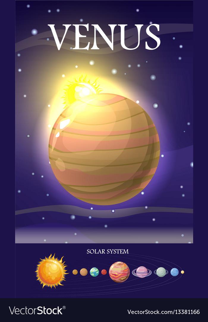 Venus planet sun system universe
