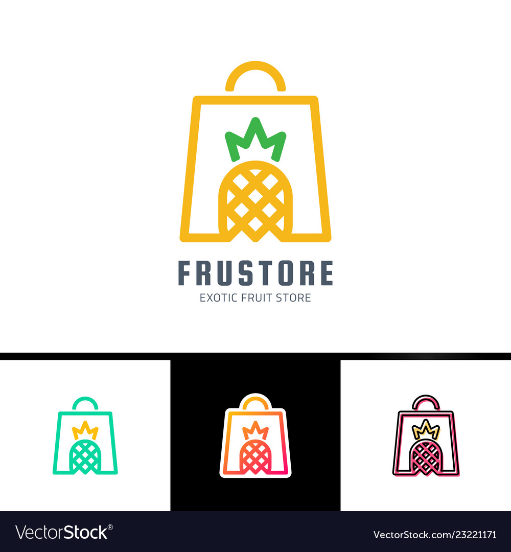 Phrase fresh fruits card with woman bag decorated