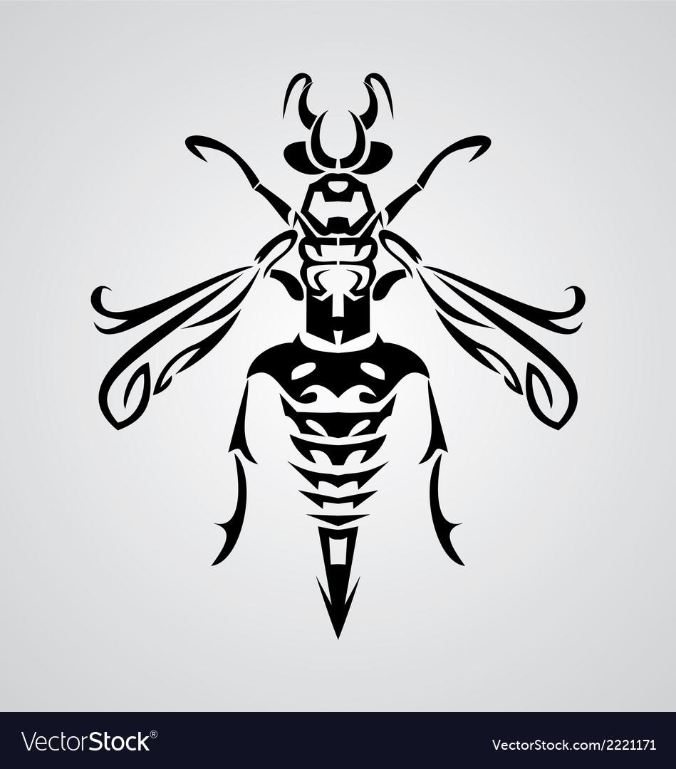 Tribal Bee