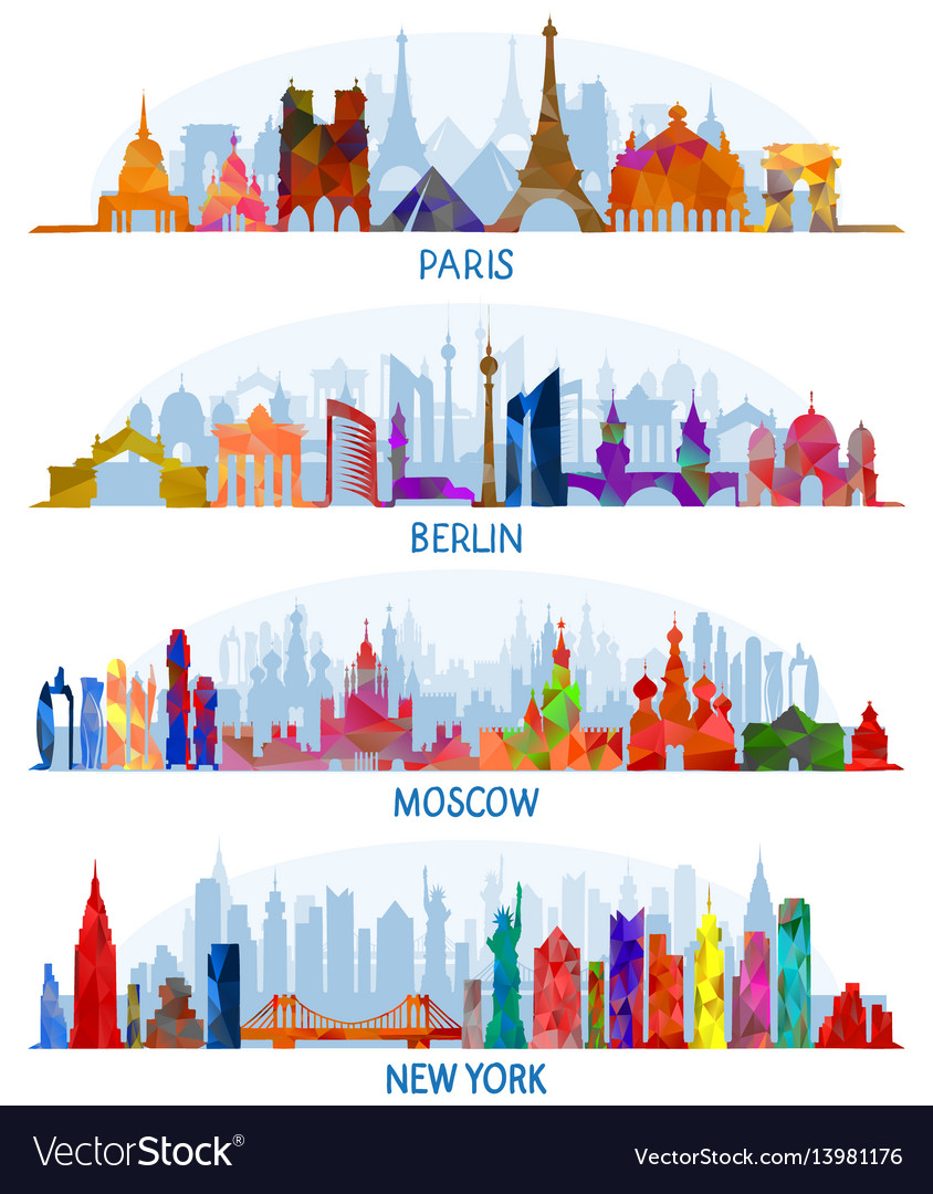 Architecture paris berlin moscow and new york