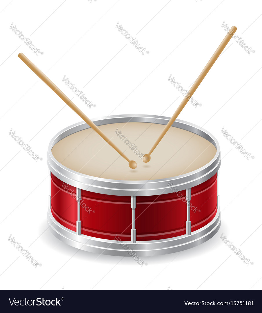 Drum musical instruments stock