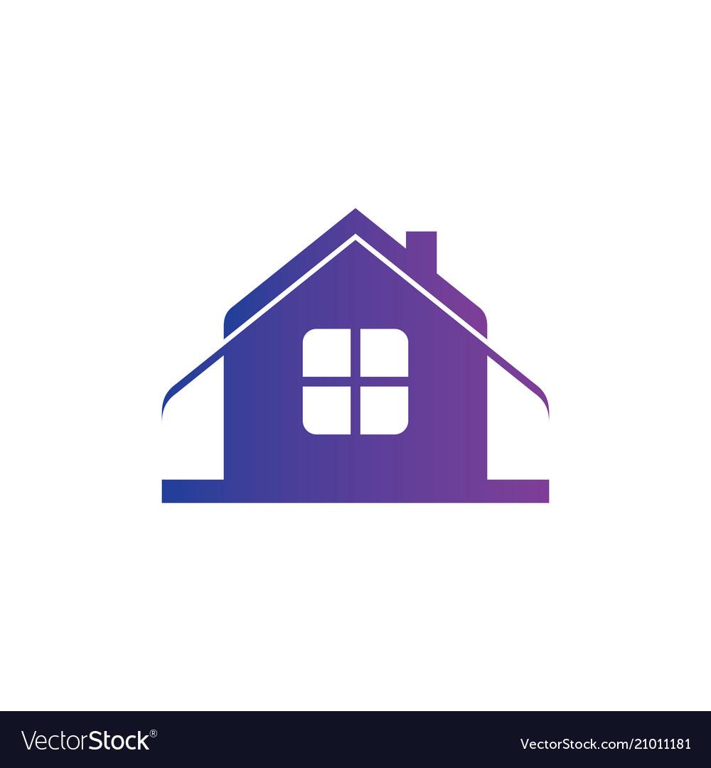 Home business sign logo