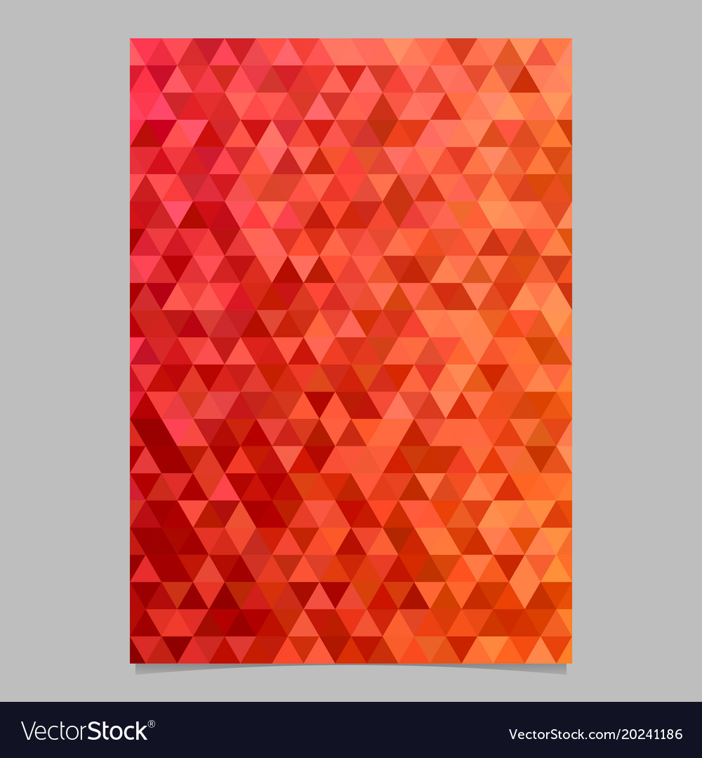 Color abstract brochure template design vector image