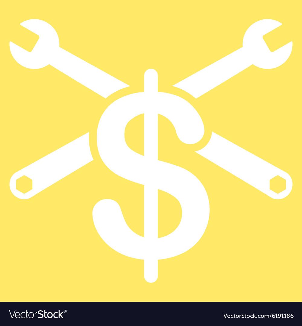 service price icon royalty free vector image vectorstock