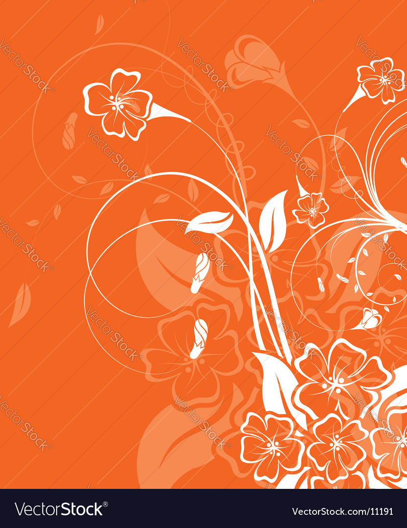 Background flower