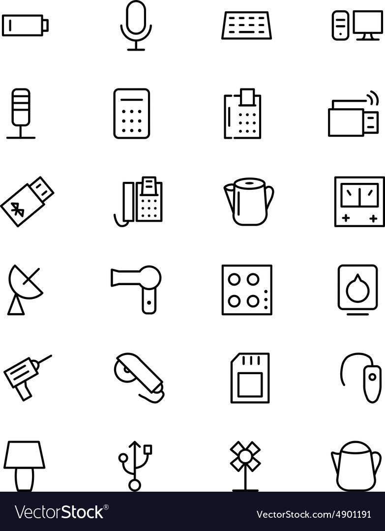 Electronics Line Icons 3