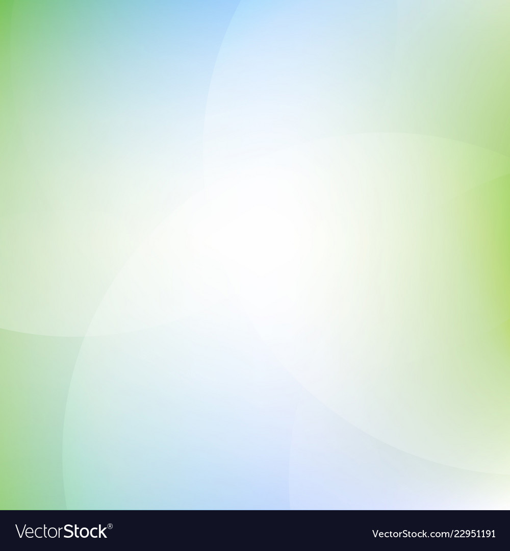 Green and blue background