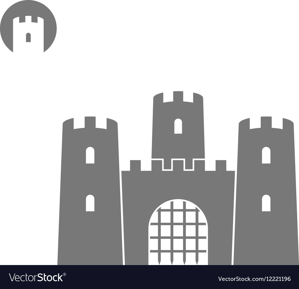 Abstract castle