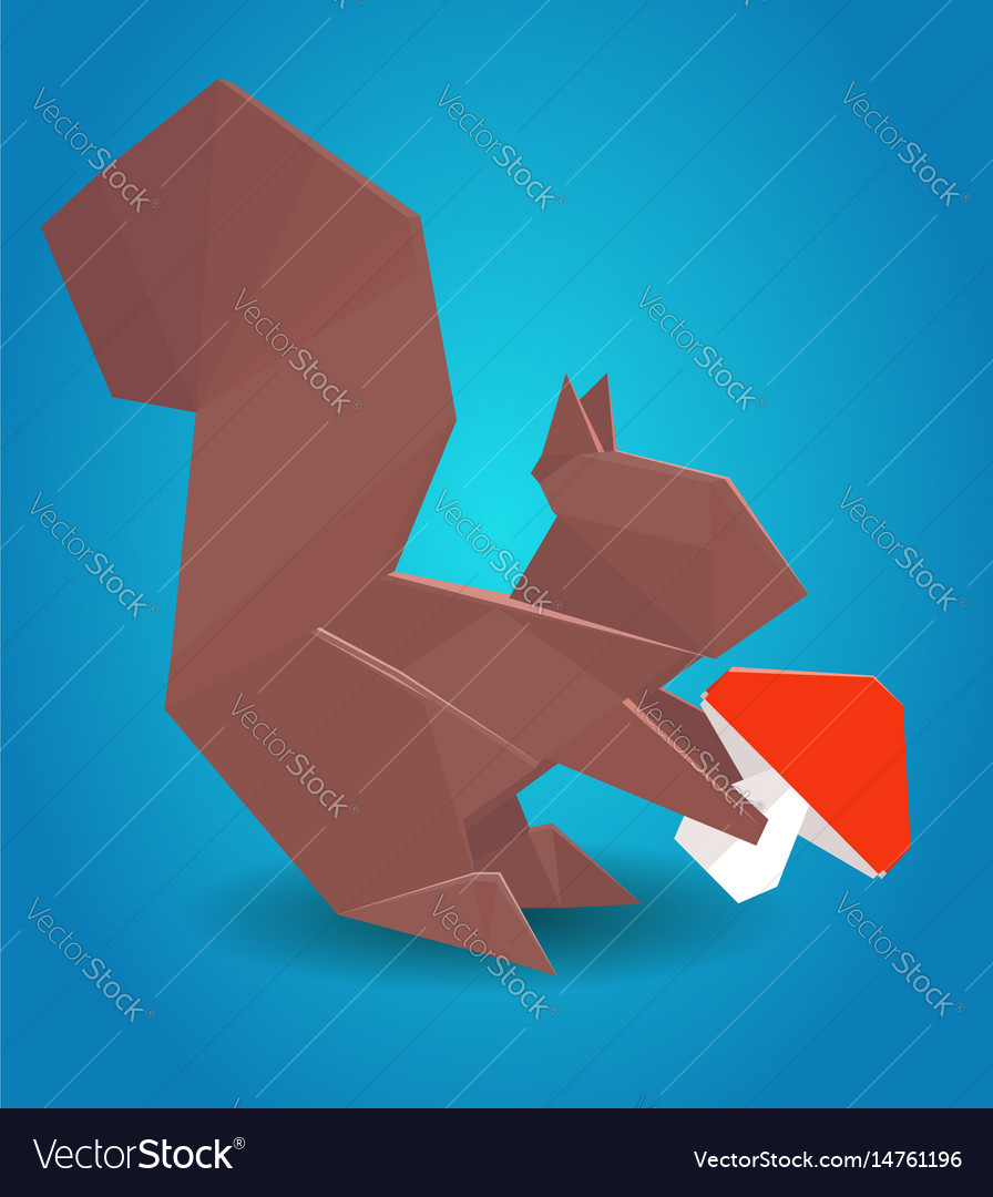 Jo Nakashima - 233/365 Origami Squirrel designed by Hideo... | Facebook | 1080x896
