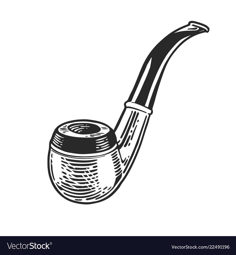 Tobacco pipe engraving