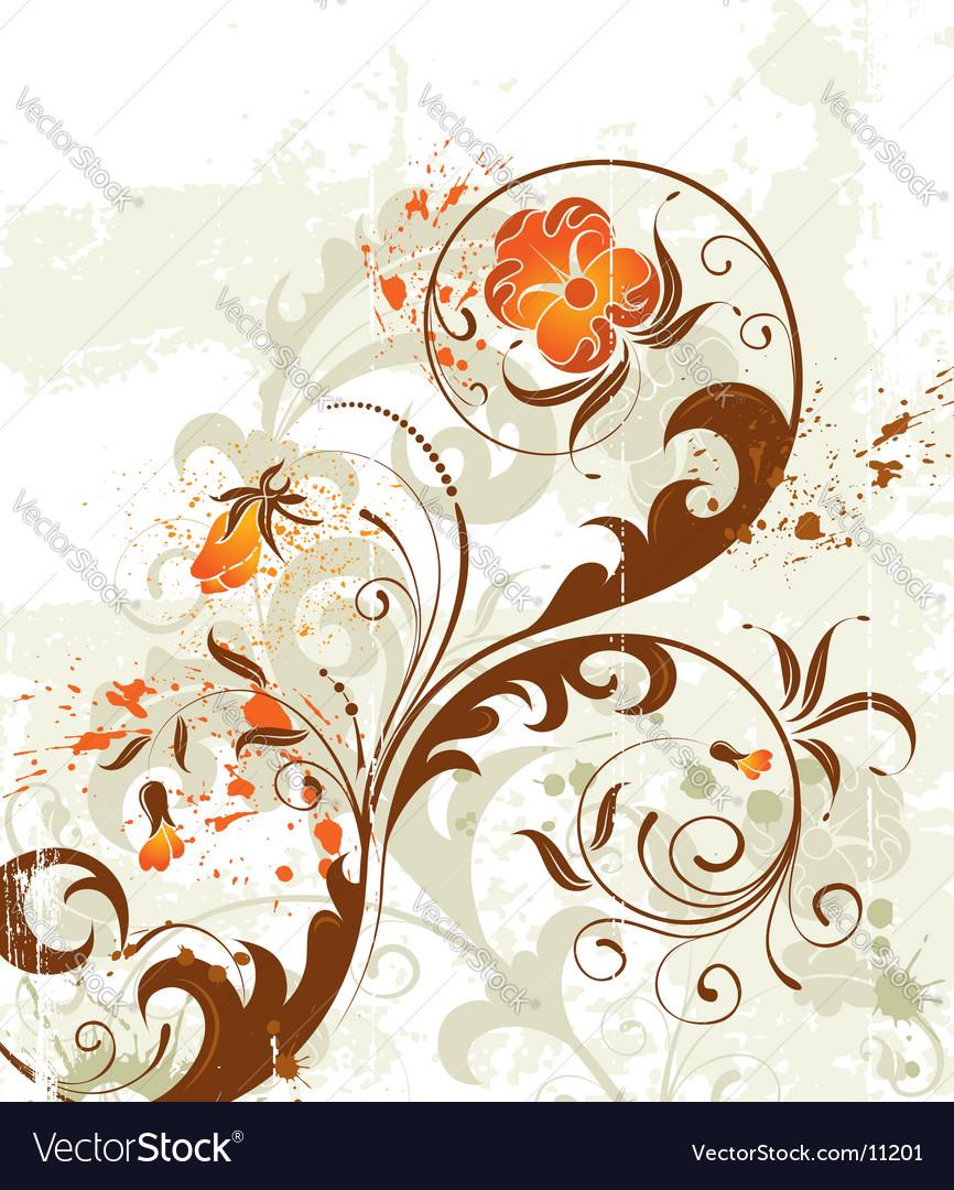 Background flower