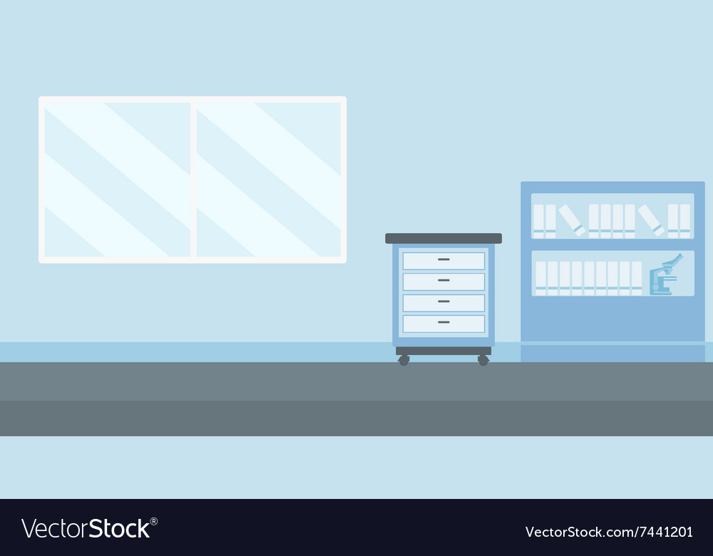 Background Of Doctor Office Royalty Free Vector Image