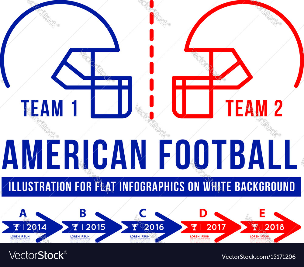 American football is the history of meetings