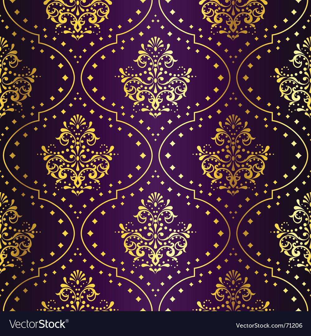 Intricate seamless vector image