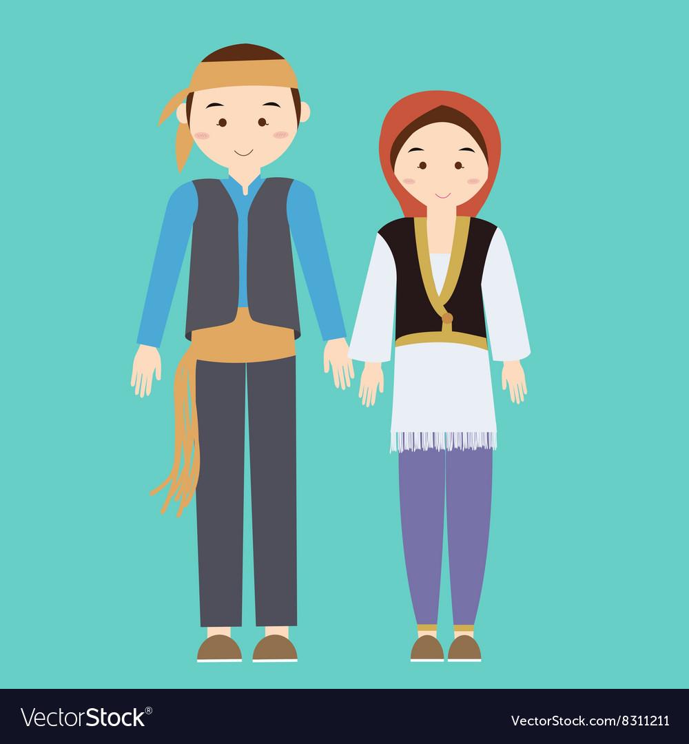 Couple man woman turkish wearing turk turkey