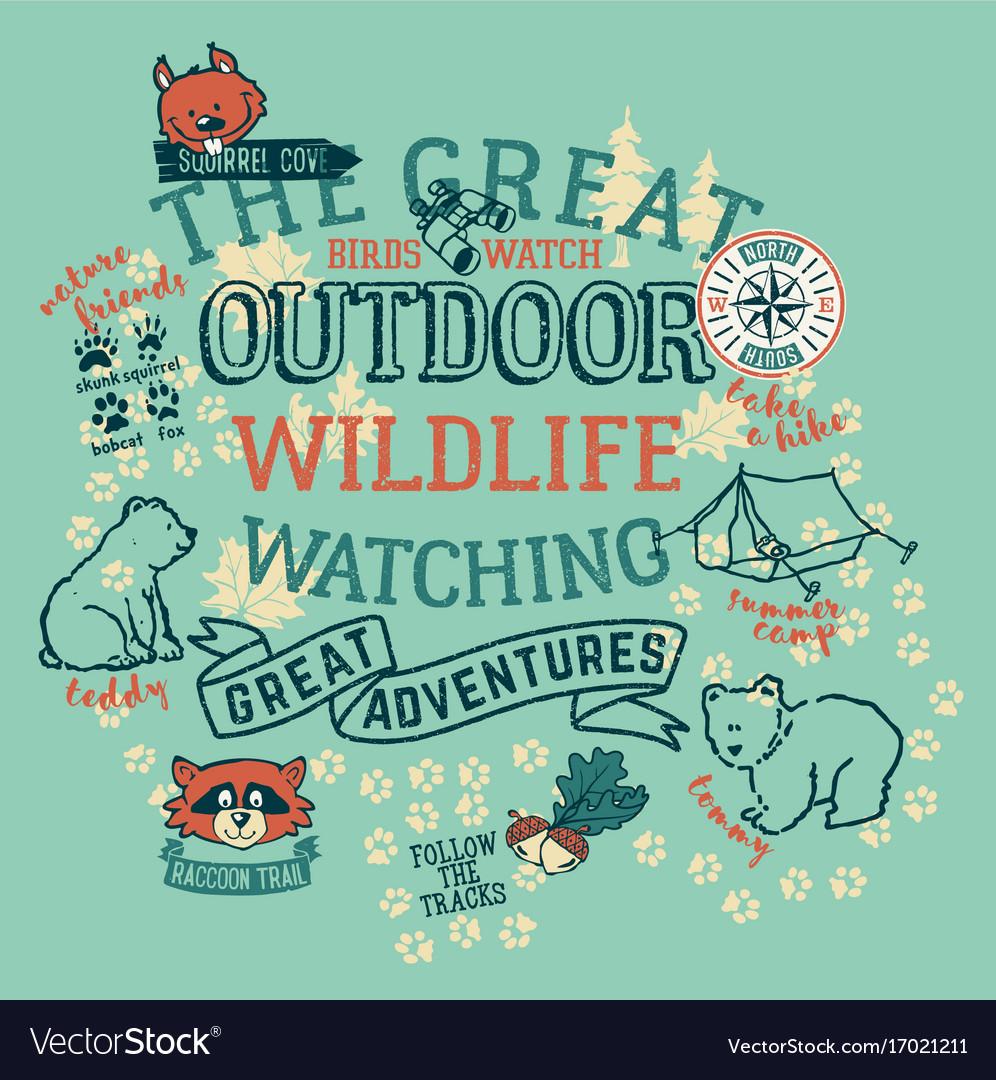 The great outdoor wildlife watching