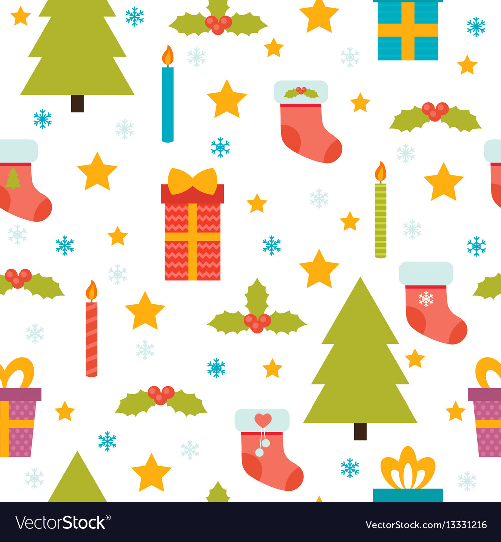 Holidays background with christmas tree