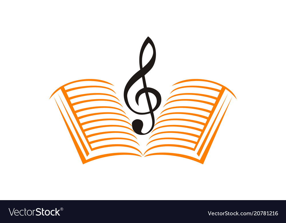 Music Education Logo Design Template Vector Image