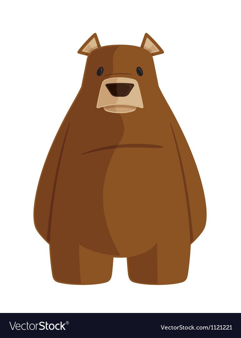 Grizzly bear cartoon