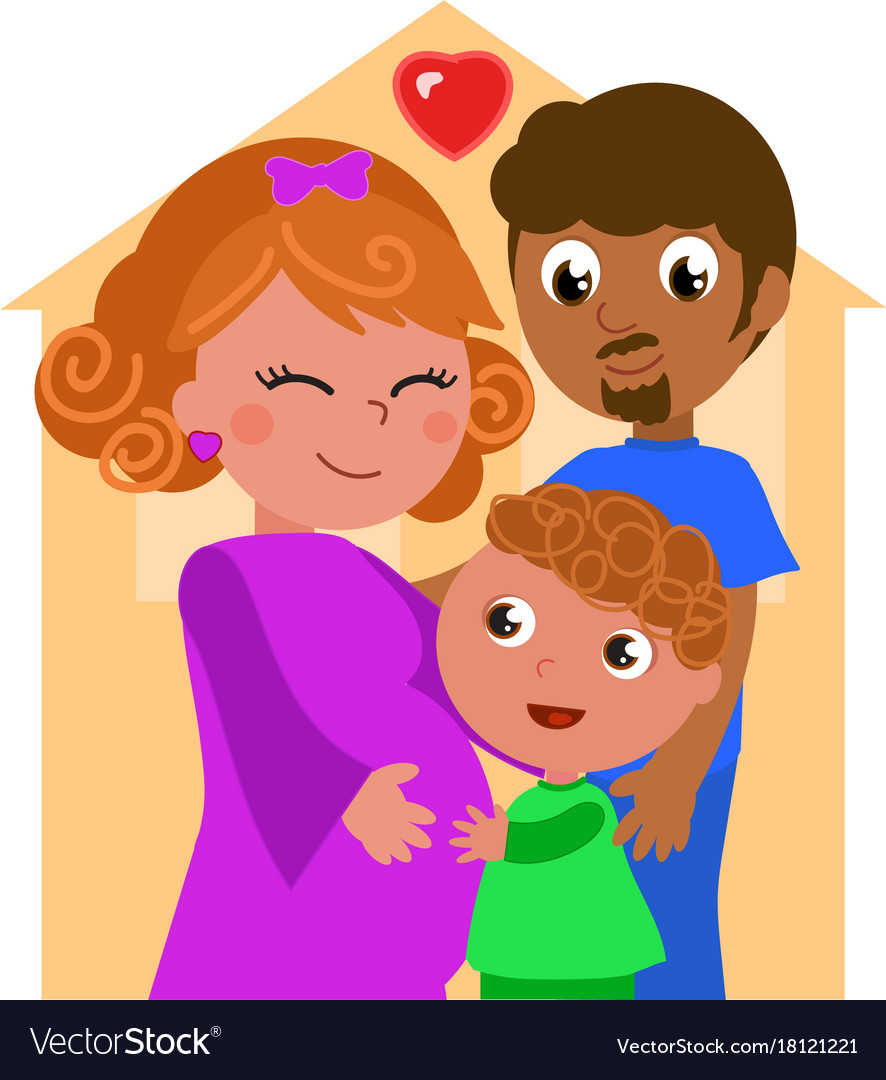 Mixed races family