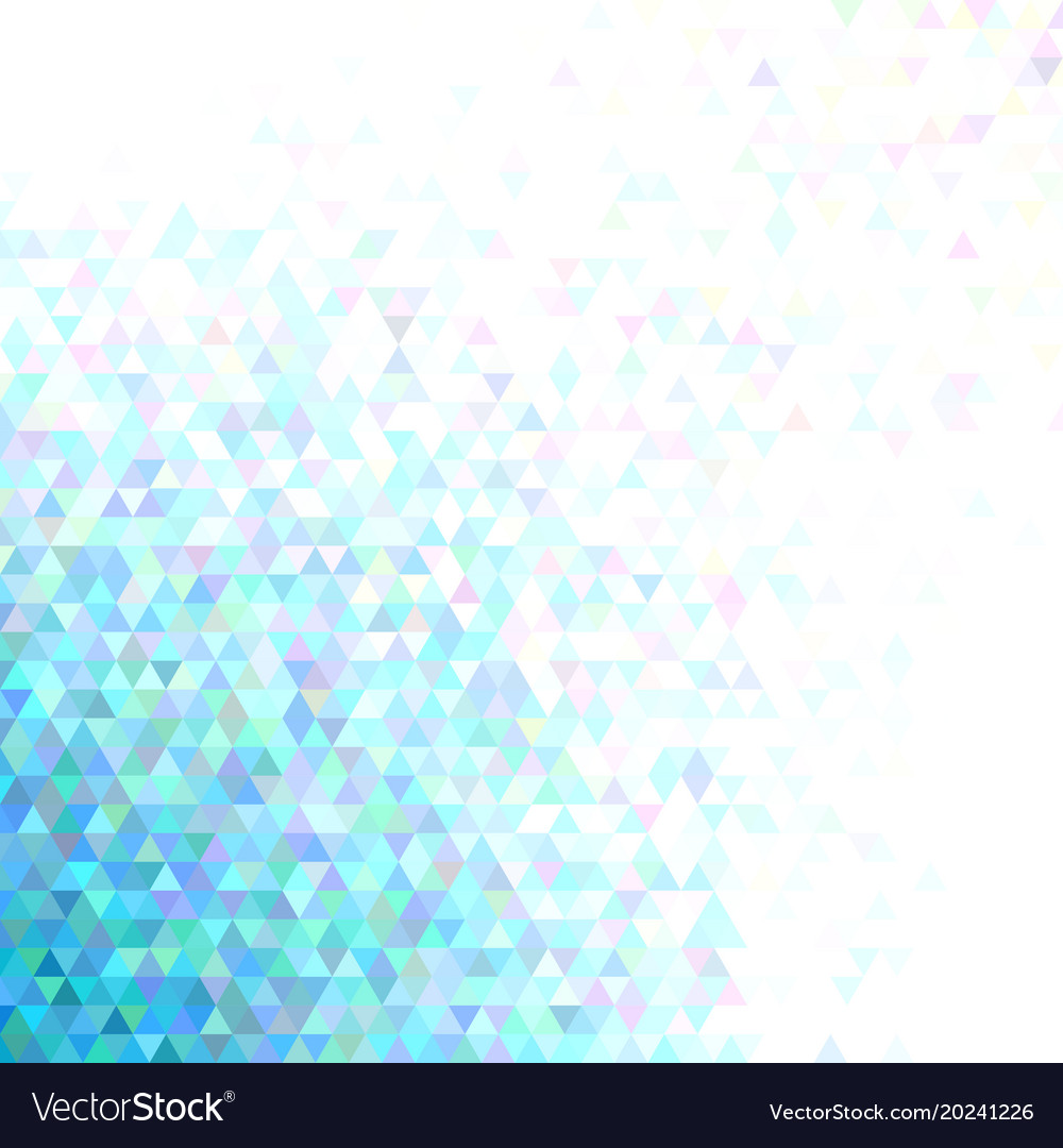 Geometric polygonal triangle pattern background
