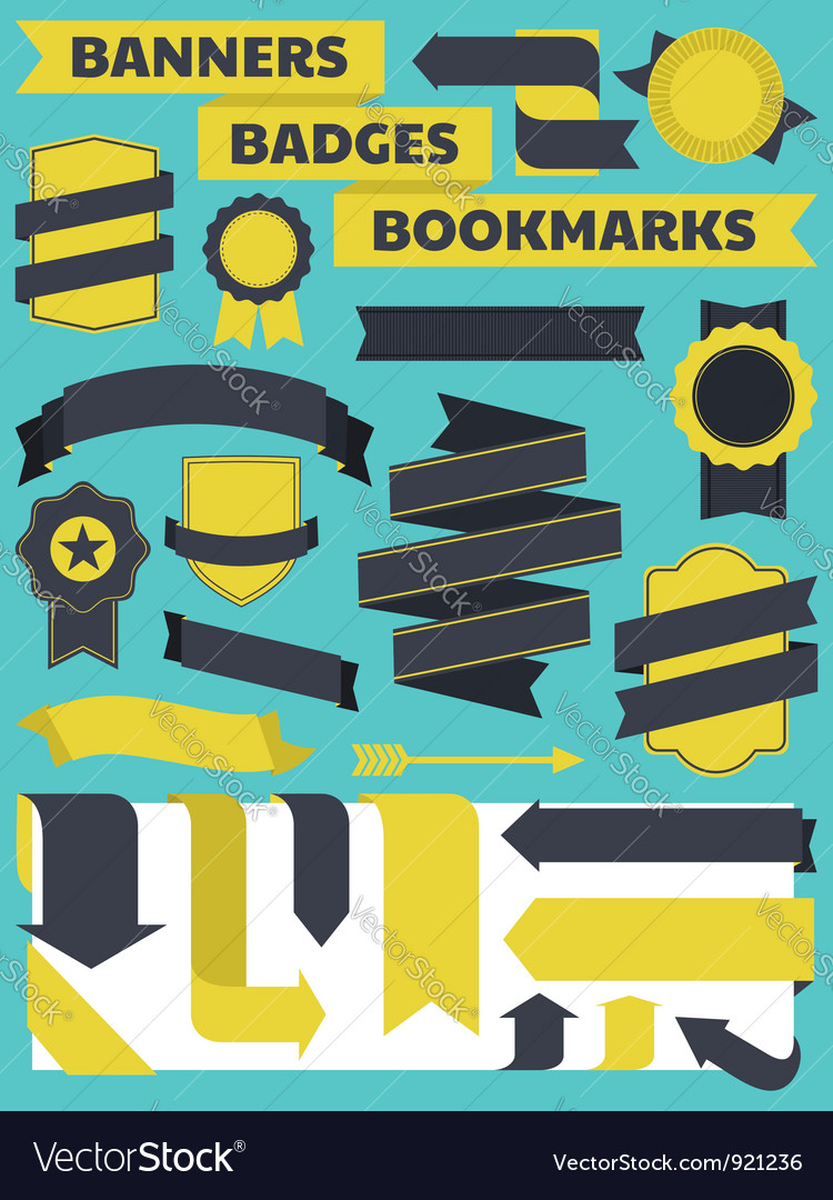 Banners Bookmarks Badges