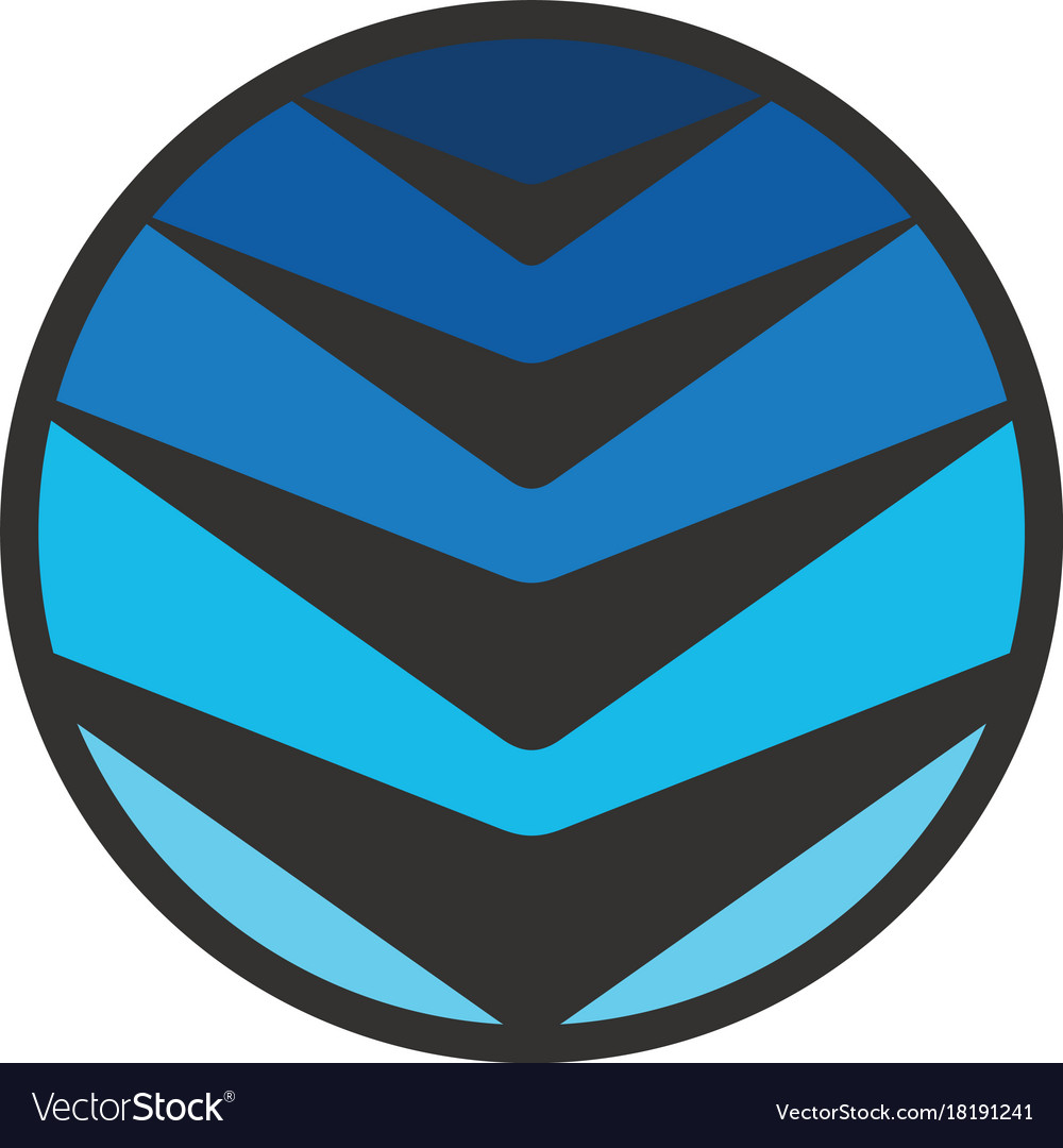 Circle arrow technology logo