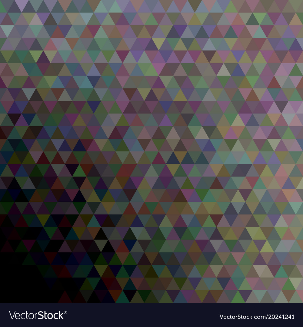 Geometric polygonal triangle pattern background vector image