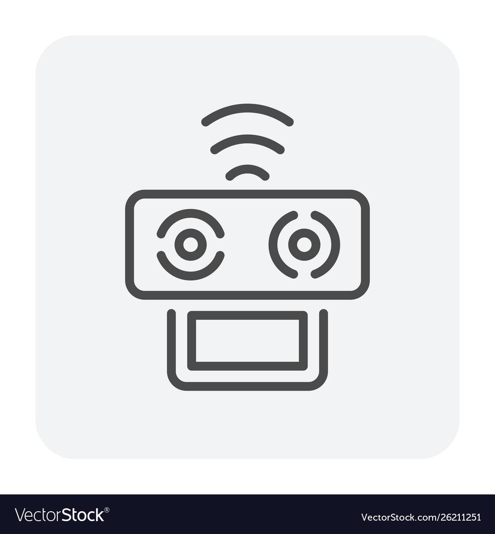 Drone icon black