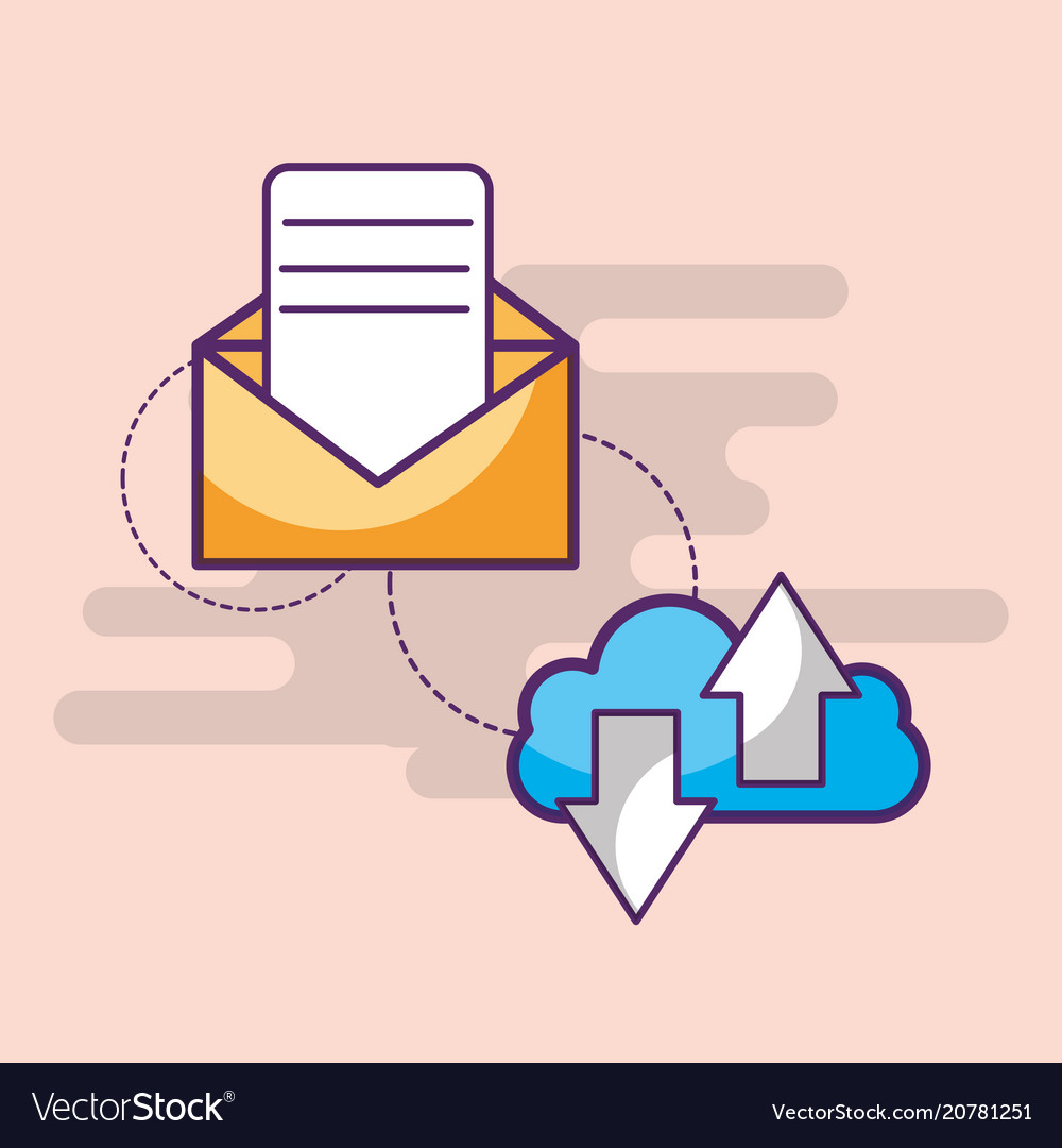 Email communication cloud computing download and