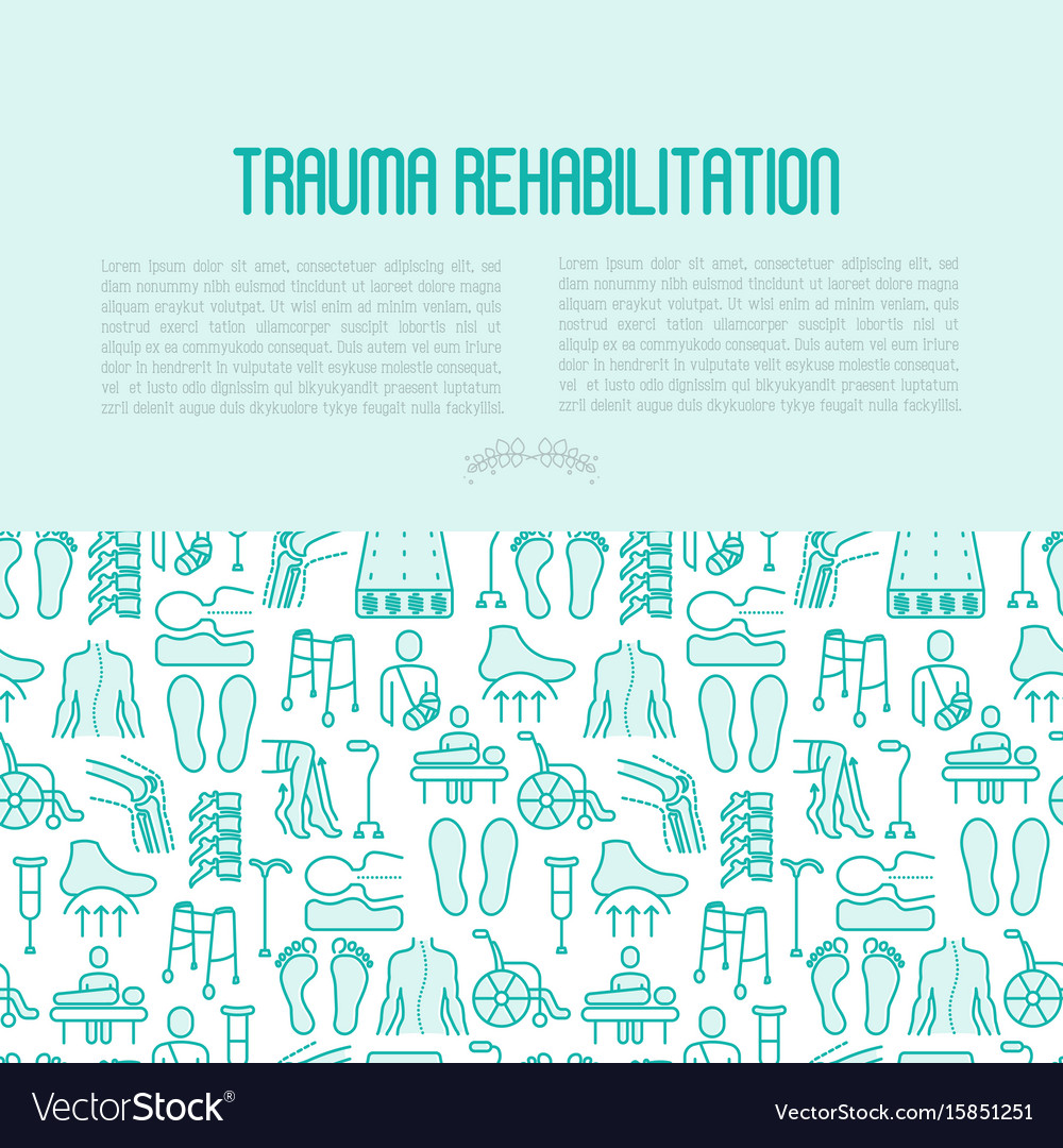 Orthopedic and trauma rehabilitation concept