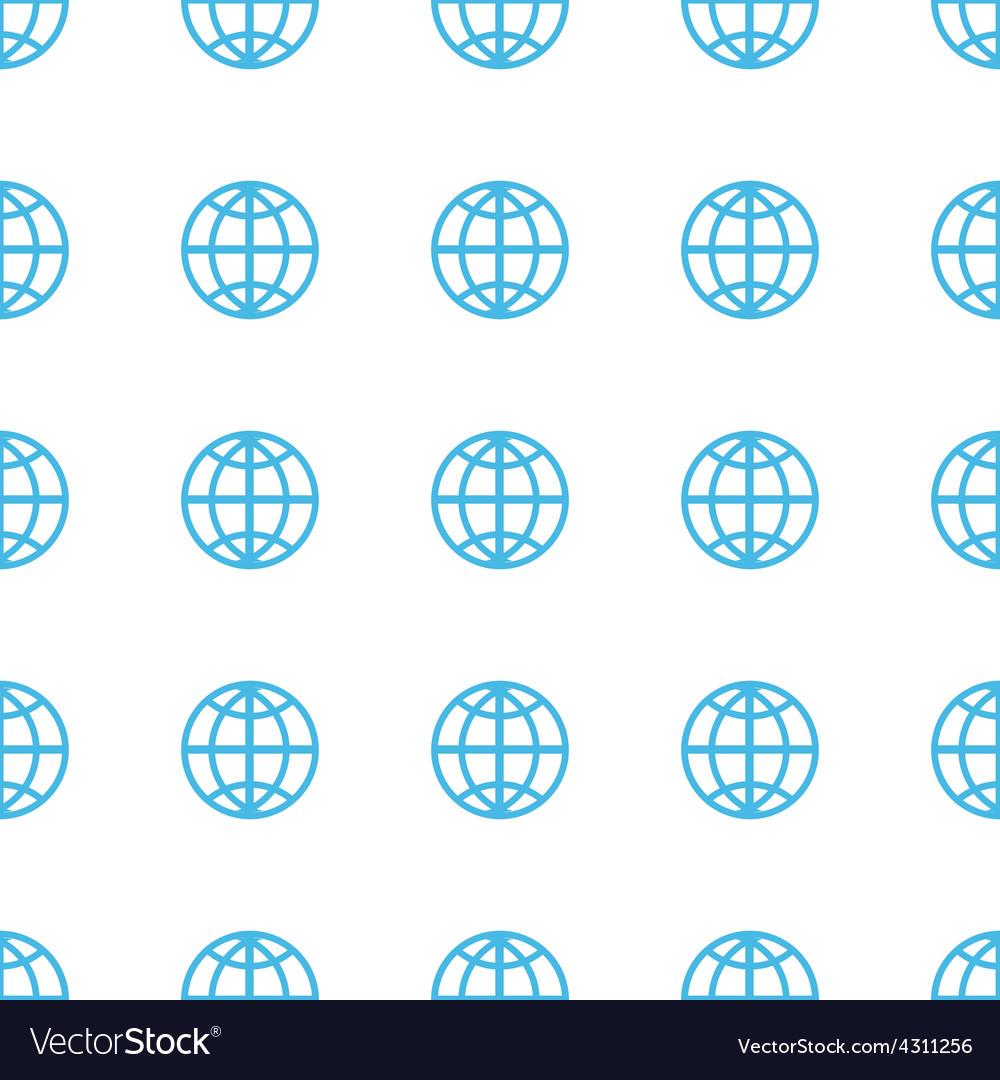 Unique World seamless pattern