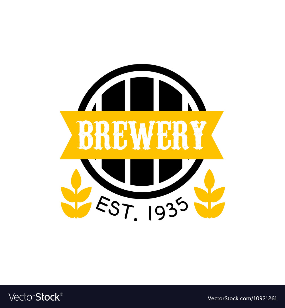 Brewery Logo Design Template
