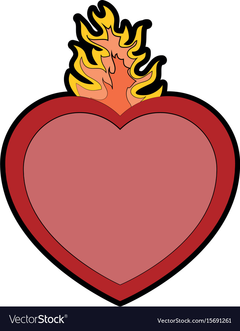 Sacred, Heart & Engrave Vector Images (45)
