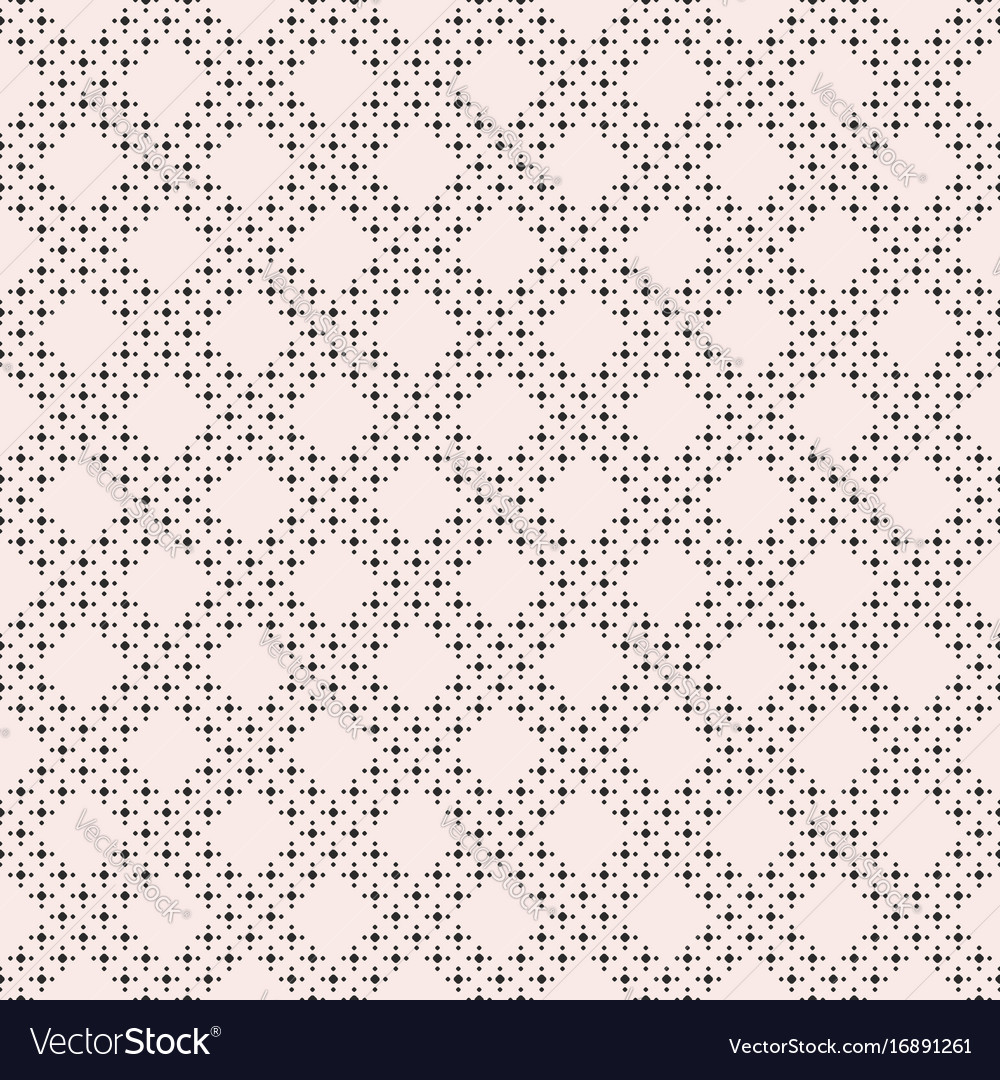 Geometric texture dots in diagonal grid