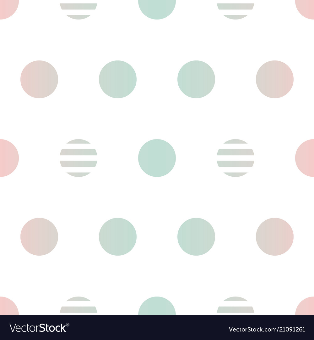 Gradient dotted seamless pattern background