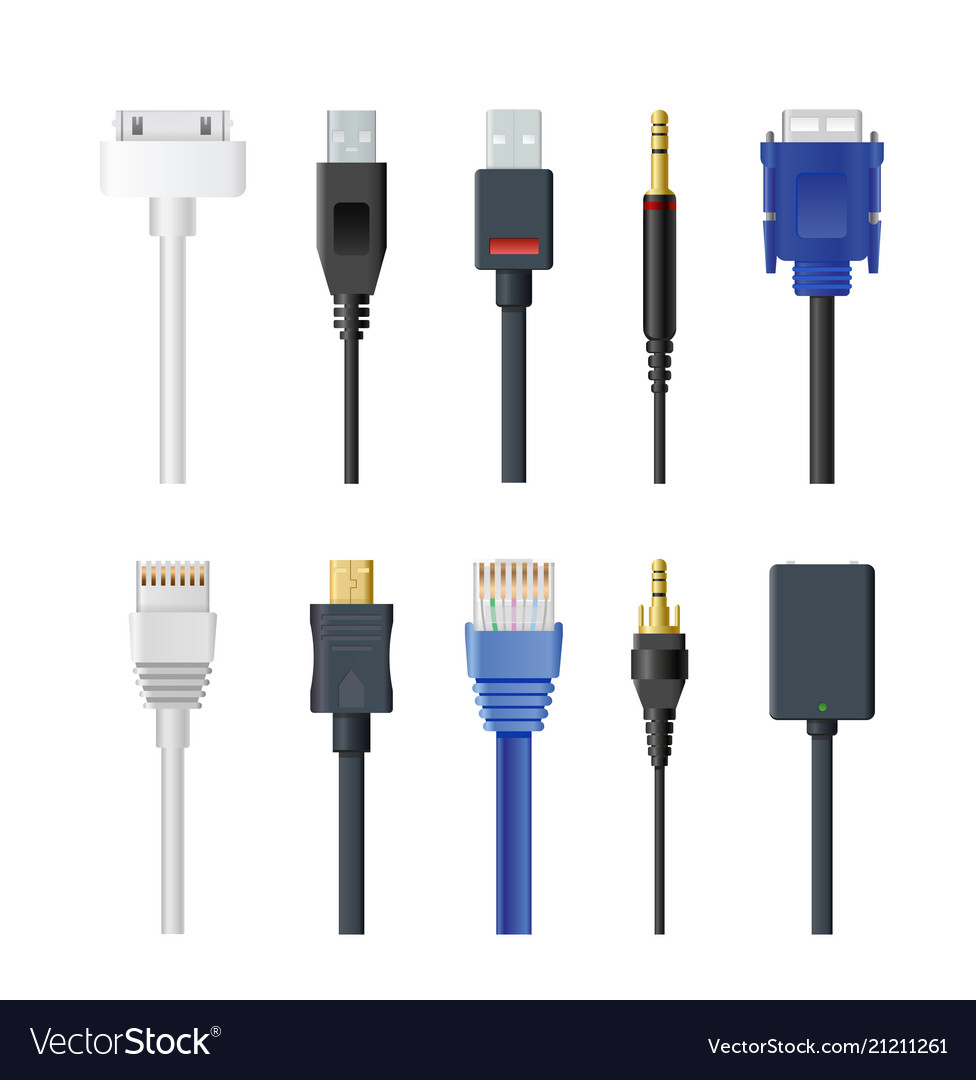 Set of socket cable plug and