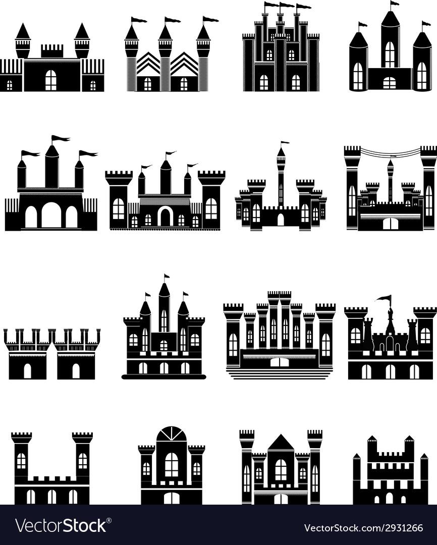 Castle Icons Set
