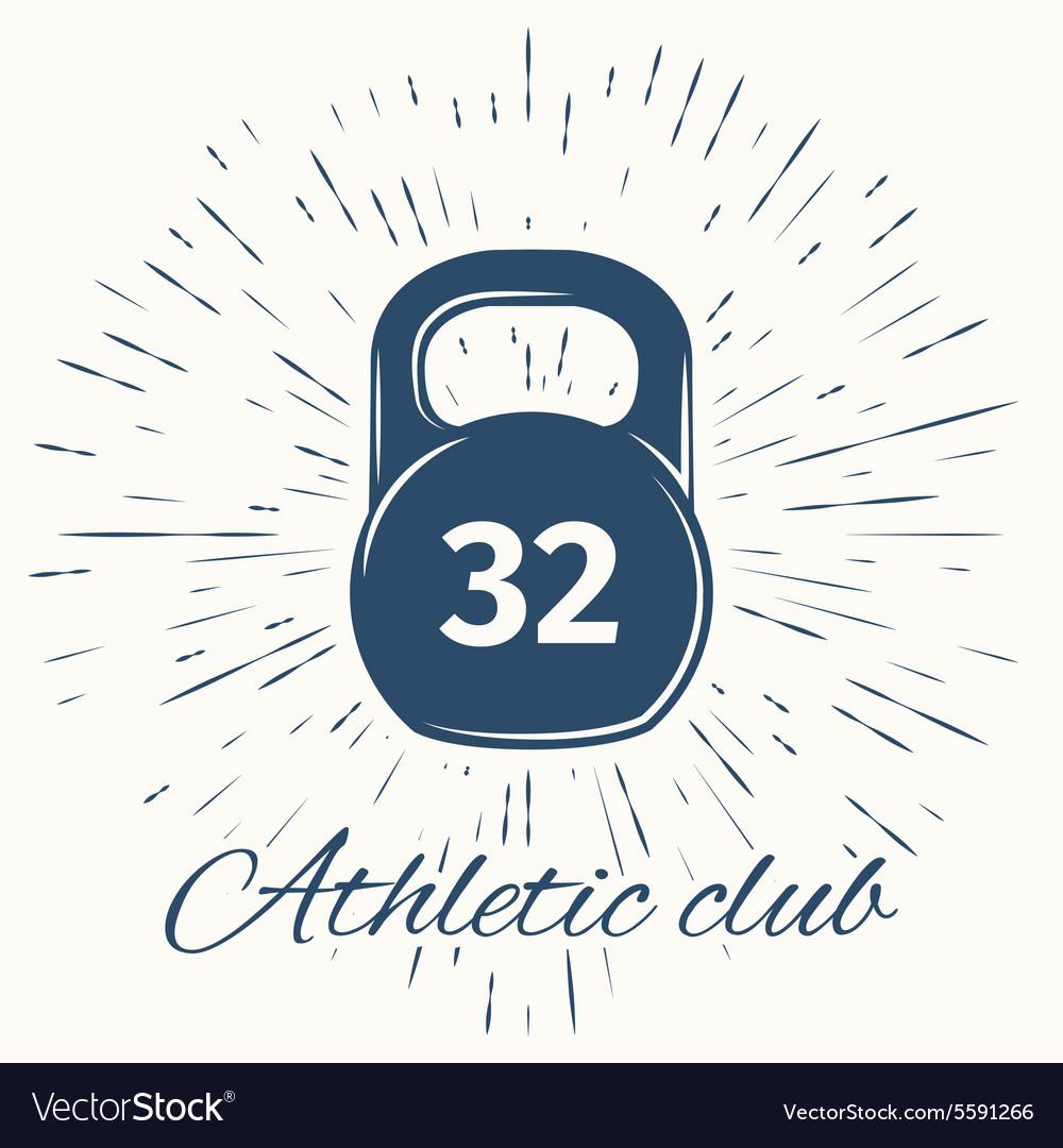 Logo for sport athletic club