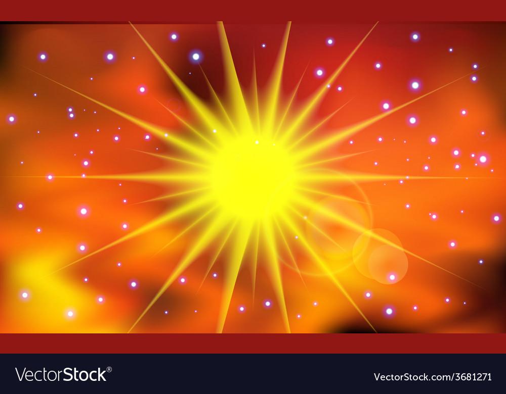 Abstract sun light background