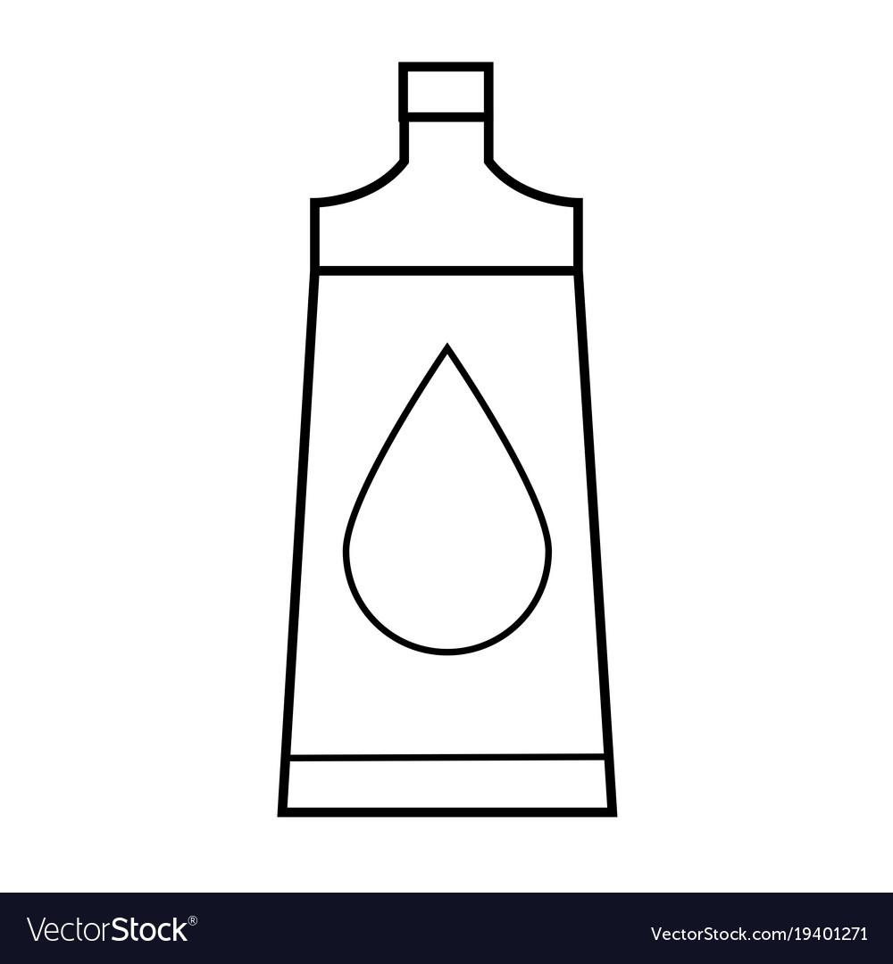 Body oil icon