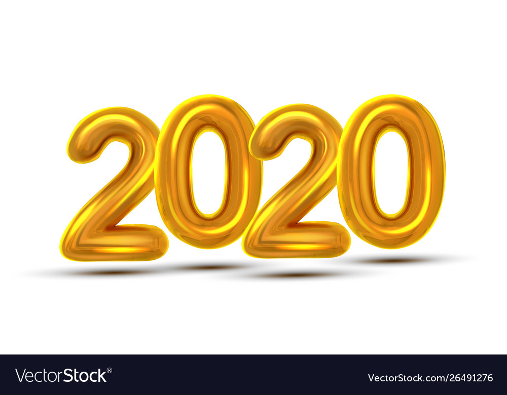 2020 new year celebration banner