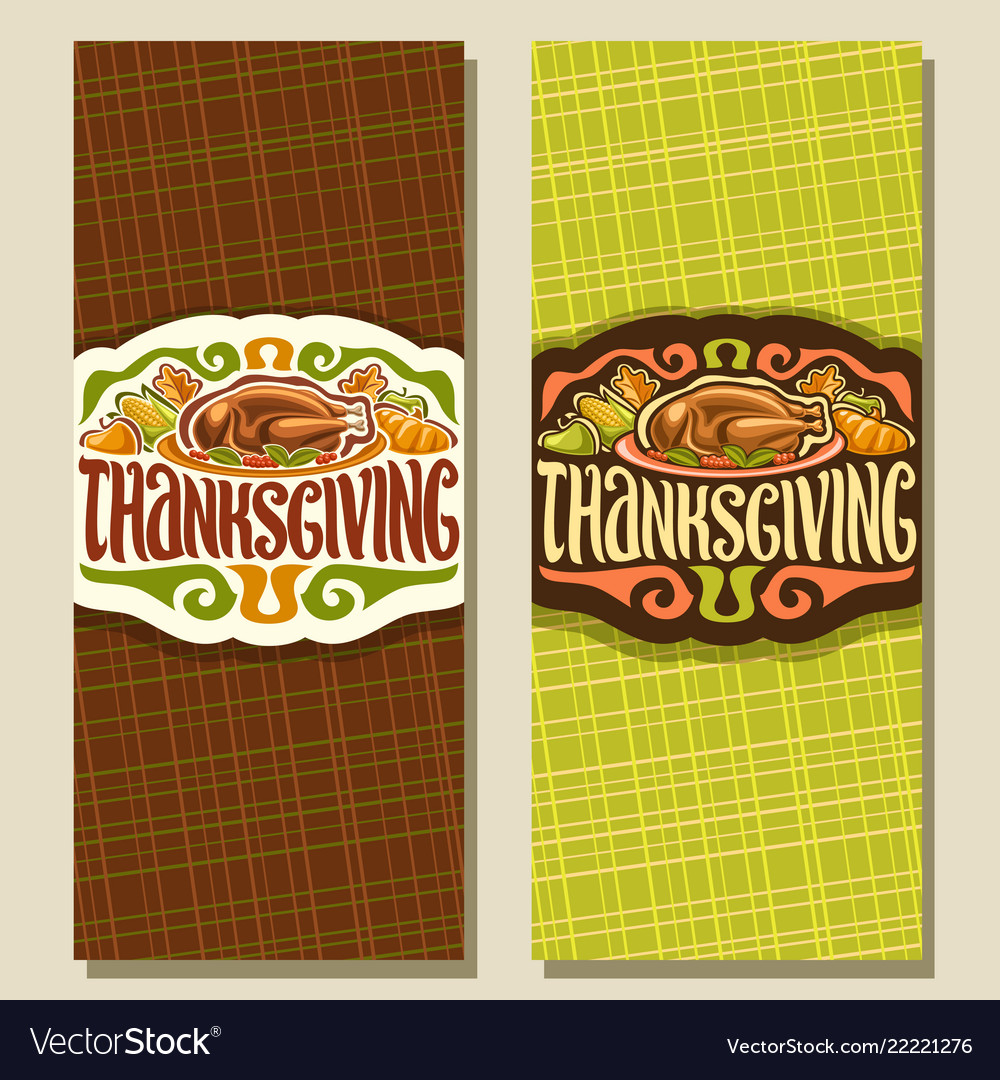 Greeting cards for thanksgiving day