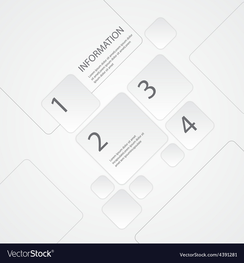 Abstract Info graphic