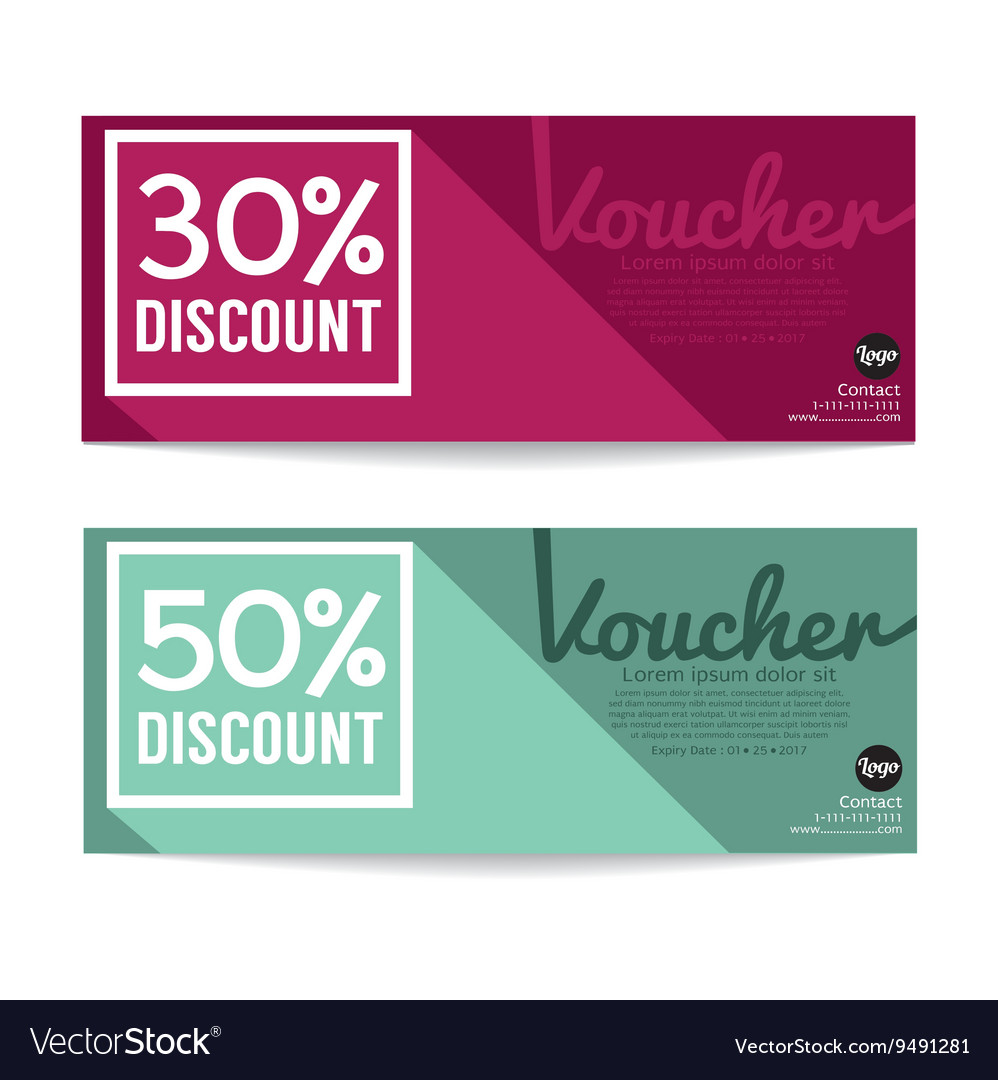 Gift Voucher Coupon Template